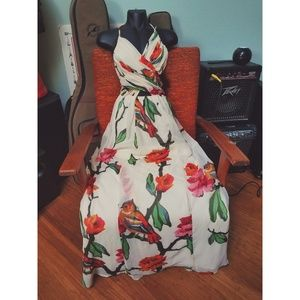 Floral Formal Summer Dress